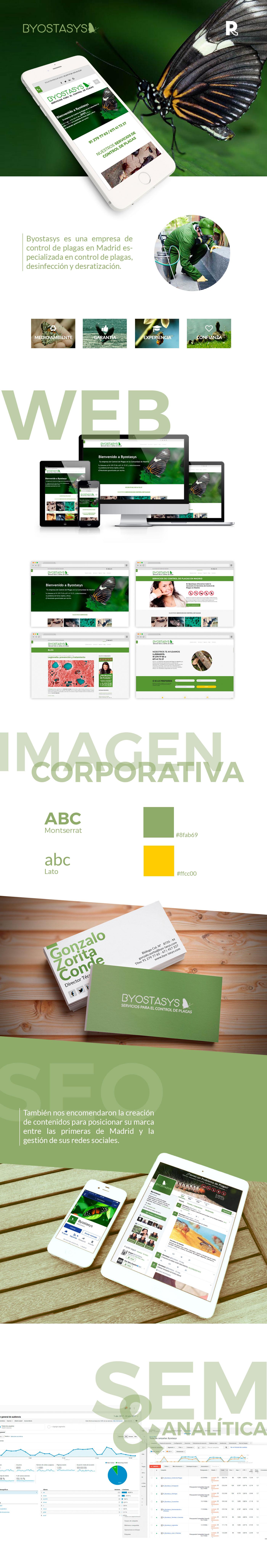 Diseño web Byostasys