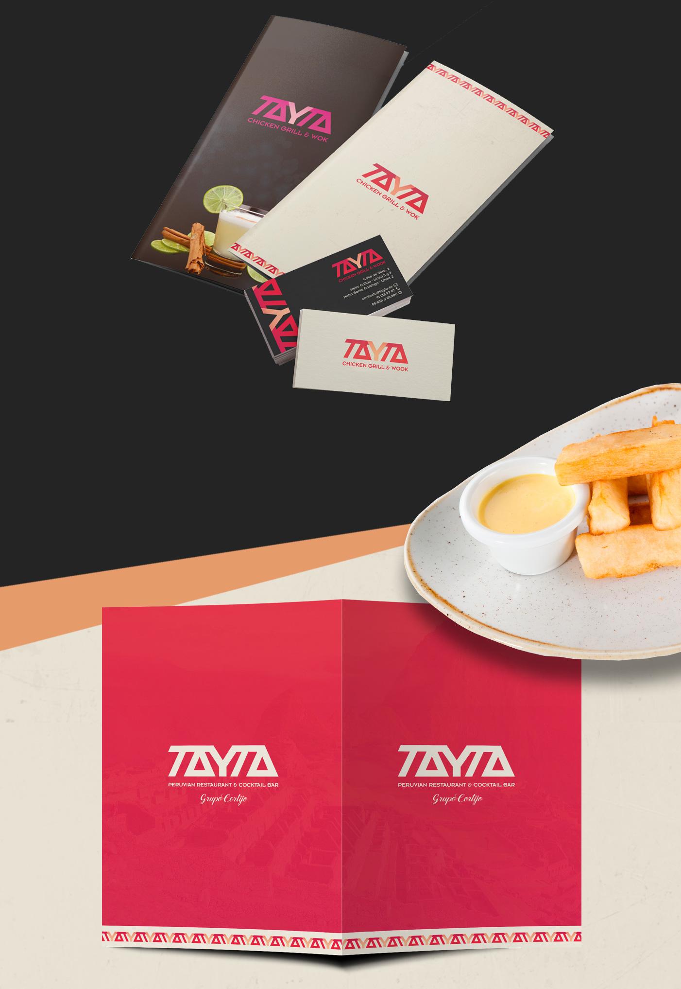 Carta Restaurante Tayta